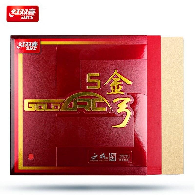 Dhs Tischtennis Gummi Goldarc 5 Made In Deutschland Gold Arc Ping Pong Kuchen Schwamm Tenis De Mesa So Effektiv Wie Eine Fee