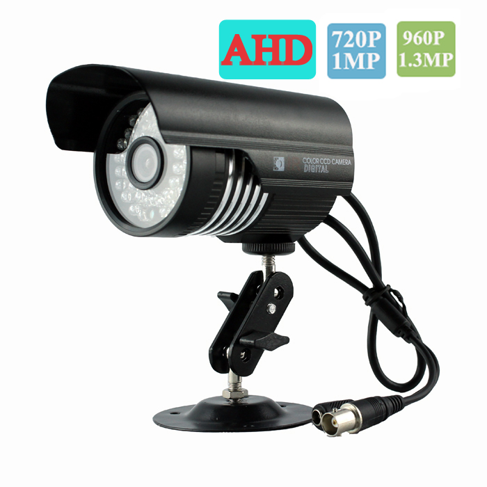bilder für Neueste 720 P/960 P Analog High Definition AHD Kamera 3,6mm Les Wasserdichte Outdoor Kugel AHD Kamera
