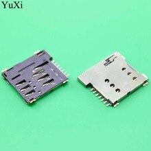 Connectors Micro-Sim-Card Sockets-Holder Yuxi 7P 7pins