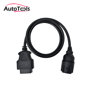 Image 1 - Dla ICOM D kabel auto interfejs diagnostyczny samochodu kabel do 10 pin do 16 pin obd2 adapter do kabla