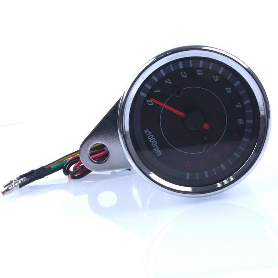 13000 RPM Scooter Motosiklet Analog takometr Cihaz Gecə Yüngül - Motosiklet aksesuarları və ehtiyat hissələri - Fotoqrafiya 2