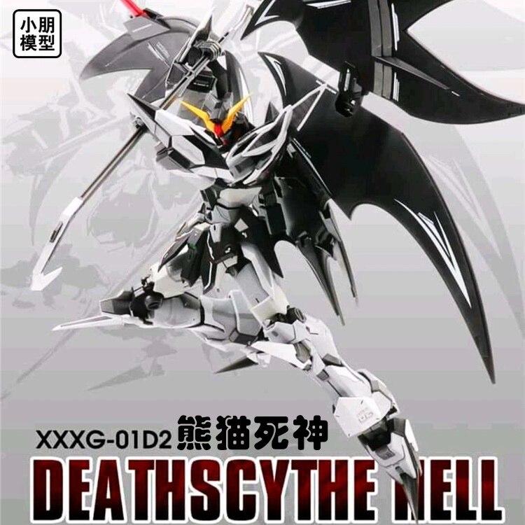 Oyuncaklar ve Hobi Ürünleri'ten Aksiyon ve Oyuncak Figürleri'de Gundam modeli MG 1/100 XXXG 01D2 Deathscythe Cehennem Cep Takım çocuk oyuncakları'da  Grup 1