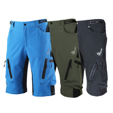 Baggy Shorts Bicycle Bike MTB Pants Outdoor Trousers Camping Hiking Pants Shorts Breathable Loose Fit Sportswear Sport Trouser 2018 new bicycle trousers men cycling shorts mountain bike rousers pants sports shorts hiking pants sportswear sports clothing