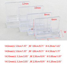 4PCS Good Quality 6/8/10/12mm Aquarium Fish Tank Acrylic Clips Glass Cover Support Holders