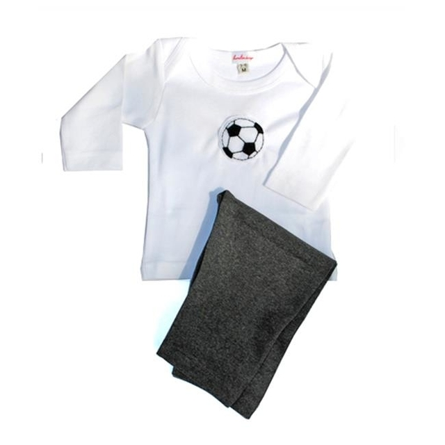 Loralin Design BOS12 Soccer Outfit 12-18 Months