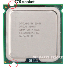 INTEL XEON E5430 CPU INTEL E5430 PROCESSOR quad core 4 core  2.67 MHZ LeveL2 12M  Work on 775 motherboard
