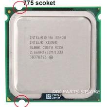 Intel xeon e5430 e5430 процессоры intel процессор quad core 4 core 2.67 мГц level2 12 м работы на 775 материнская плата