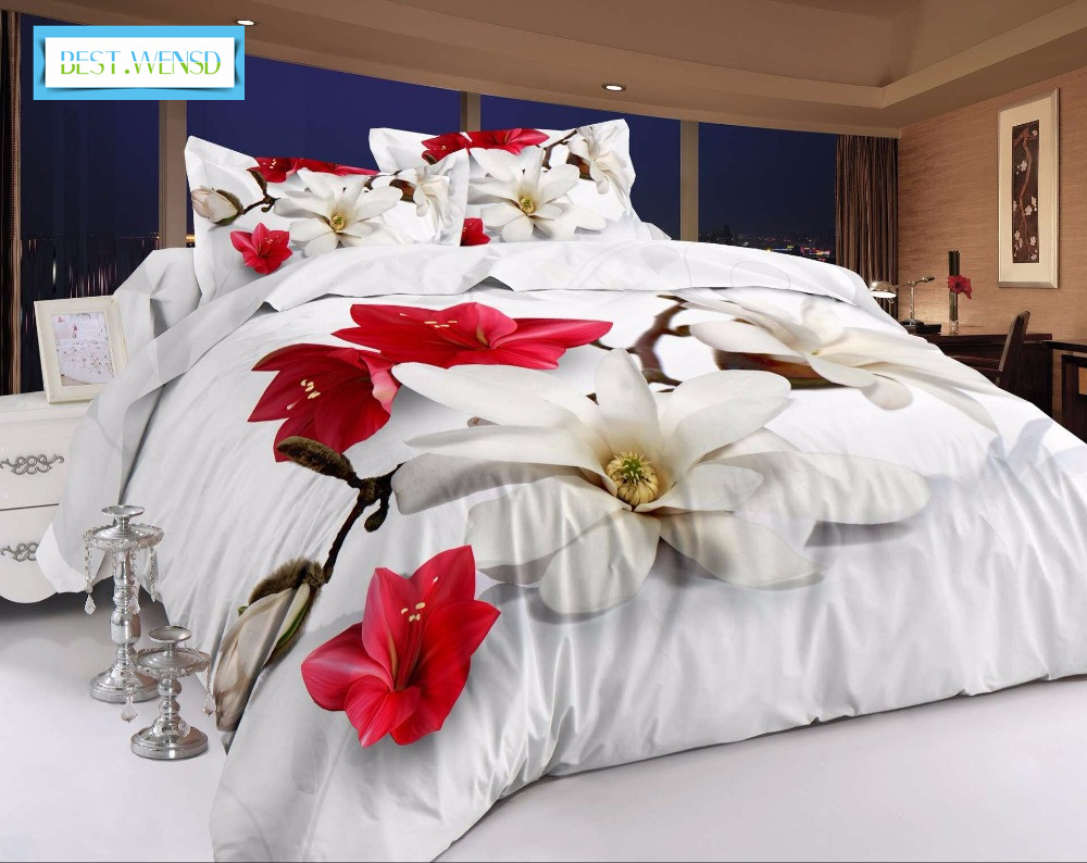 BEST.WENSD luxury dekbedovertrek 2 persoons king quilt cover set 3d big jacquard Rose bedclothes duvet cover sets boho beddingBEST.WENSD luxury dekbedovertrek 2 persoons king quilt cover set 3d big jacquard Rose bedclothes duvet cover sets boho bedding