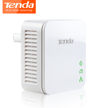 1Pcs Tenda P202 Powerline Network Adapter 200Mbps PowerLine Ethernet Adapter PLC adapter, Compatible with IPTV, Plug and Play