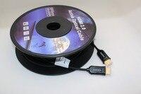 40 м Active Волокно оптическое AOC высокое Скорость Кабель HDMI HDMI к HDMI Active оптический кабель M/M 18 Гбит/с, HDR, 3D 1080 P 2 К * 4k @ 60fps
