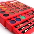2016 de Alta Qualidade Bonita 60 Cores de Sombra da América Do Sul Cores Shimmer Matte Palette Combinação 3 Blushers Maquiagem Kit Completo