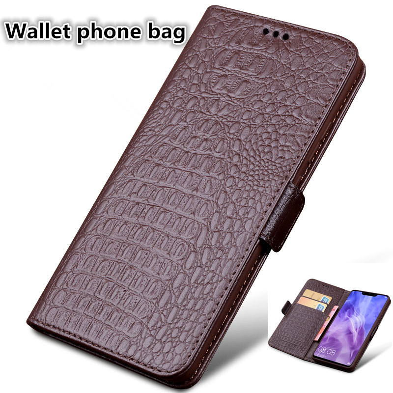 HX08 Natural Leather Wallet Phone Bag For Motorola Moto Z2 Play Phone Case For Motorola Moto Z2 Play Flip Case