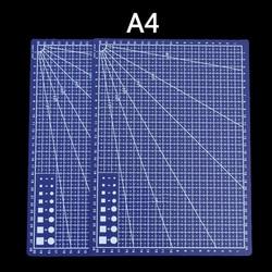 Profesjonalny A4 precyzyjny trymer pcv 30*22cm patchwork cutter podstawa mata do cięcia tkanina skórzana prace ręczne z papieru narzędzia diy w Maty do cięcia od Artykuły biurowe i szkolne na