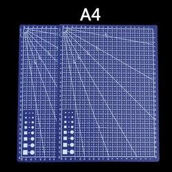 Profissional aparador de precisão A4 base de cortador de PVC 30*22 cm patchwork tapete de corte para Papel Tecido De Couro Artesanato DIY ferramentas