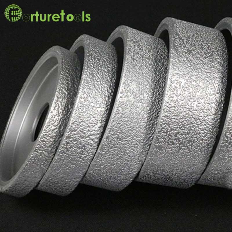 ФОТО 1 piece brazed flat edge diamond wheels Dia 74mm hole 20mm for marble ceramic quartz manmade stone rough grind DD073
