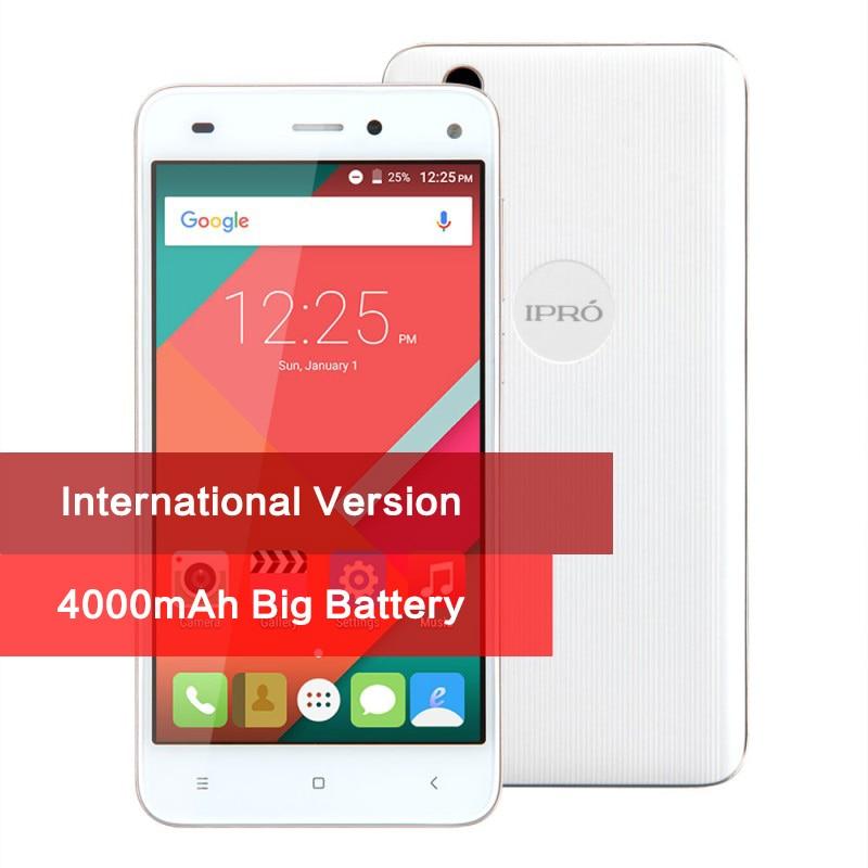 4000mAh IPRO More 5 0 Smartphone Android 5 1 Original Mobile Phone 5 0 Inch Quad
