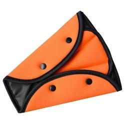 Детская безопасность авто для детей чехол ремень регулируемая подкладка жгут фиксатор для сиденья оранжевый