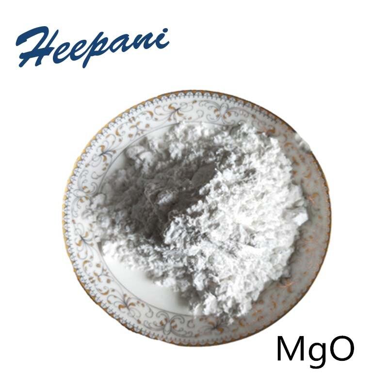 Free Shipping 99.9% MgO Light Magnesia Magnesium Oxide Powder For Flame Retardant, Ceramic Material