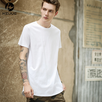 Swag Long T Shirt Oversized High Street Tops Tees Casual 1