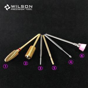 Набор твердосплавных фрез для ногтей K1 (6 шт.)-твердосплавное сверло для ногтей WILSON