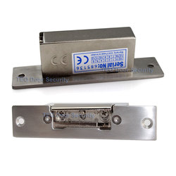 600kg holding force european narrow type lock and adjustable electric strike suitable for narrow wooden door.jpg 250x250