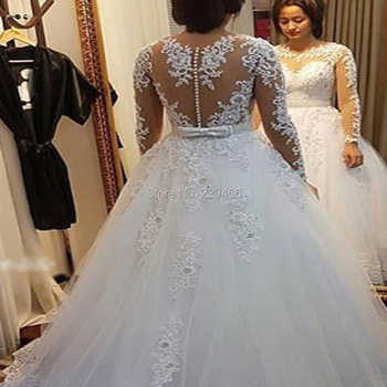 wuzhiyi quality Vestido De Noiva Cap Sleeve wedding dress Vintage Lace robe de mariee Pearls Bridal Gown For mariage trouwjurk - DISCOUNT ITEM  39% OFF All Category