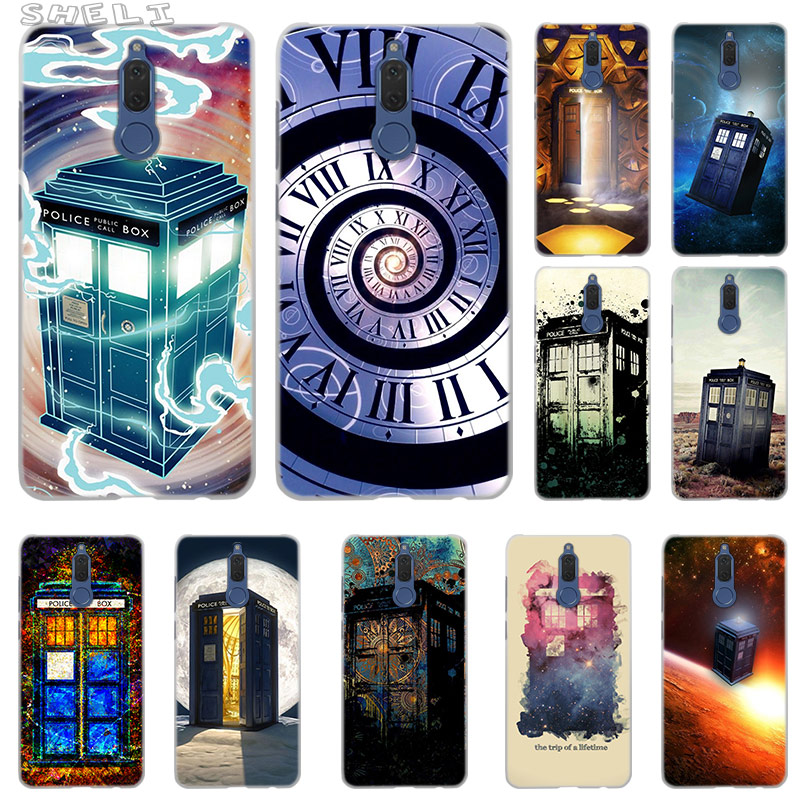 Phone Bags & Cases Silicone Cover Case For Huawei Honor 10 9 Lite 8x 8c 8a Y6 Y7 Y9 7a Pro Prime 7c 2018 2019 V20 Tardis Box Doctor Who Fine Quality Cellphones & Telecommunications