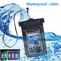 100 Sealed Diving Bags Waterproof Durable Water Proof Bag Underwater Back Cover Case For 4 5