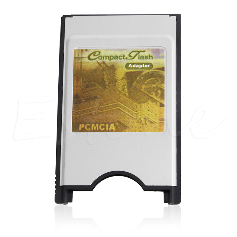 Compact Flash CF to Adapter Cards Reader PC Card PCMCIA for Laptop Notebook 50pcs lot sfr9224 to 252