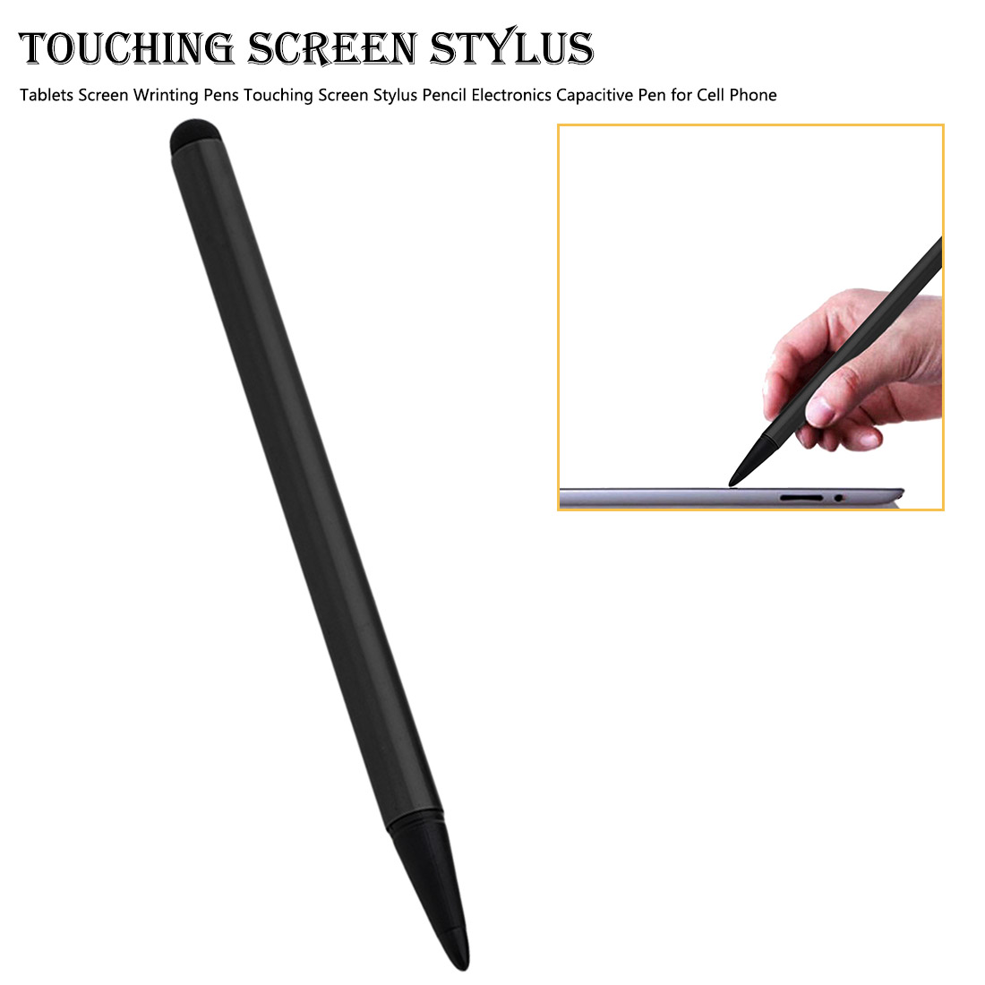Office Tablets Screen Wrinting Pens Touching Screen Stylus Pencil Electronics Capacitive Pen For Cell Phone