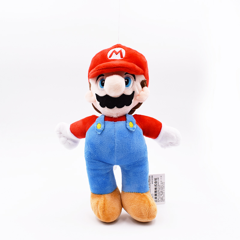10inch 25cm Super Mario Plush Toy Mario Soft Stuffed Doll With Tag Free Shipping 1