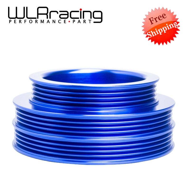 WLR RACING-LIVRAISON GRATUITE Léger Poulie de Vilebrequin Pour Honda B16/B18 Moteur Civic/Accord Bleu WLR6881B