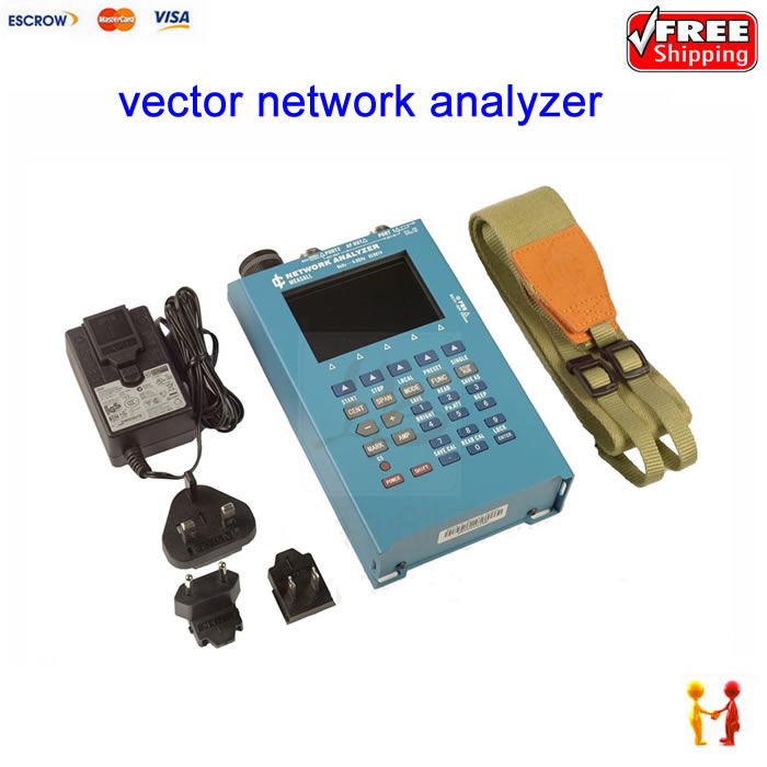 vector network analyzer KC901V day feeder analysis frequency spectrum field strength radio frequency SWR standing wave test time frequency analysis