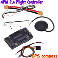 ArduPilot Mega APM2.6 Flight Controller Board External Compass With Ublox NEO-6M GPS RC Airplane Part Wholeslae