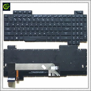 Image 1 - 1 Originele Engels Verlicht Toetsenbord Voor Asus Rog Strix GL503 GL703 GL503V GL503VD GL503VD DB71 GL503VD DB74 GL503VM GL503VS Ons