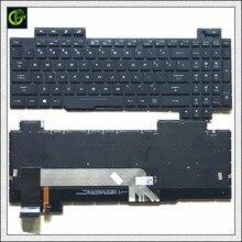 1Original Inglês Retroiluminado teclado para ASUS ROG Strix GL503 GL703 GL503V GL503VD GL503VD DB71 GL503VD DB74 GL503VM GL503VS EUA