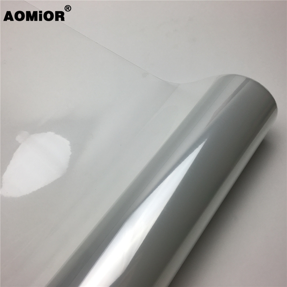Image 2 - PPF 3 Layers Glossy Transparent Vinyl Film Motorcycle Bike Scooter Rhino Skin Protective Film For Car Paint Protection Film -in Car Stickers from Automobiles & Motorcycles