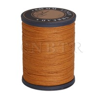 0 55mm Dia Orange Flax Waxed Linen Craft Sewing Stitching Thread Cord CNBTR