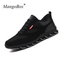Mangobox 2017 Spring Summer Men Running Shoes Black Mens Trainers Breathable Walking Jogging Sneakers Cool Gym