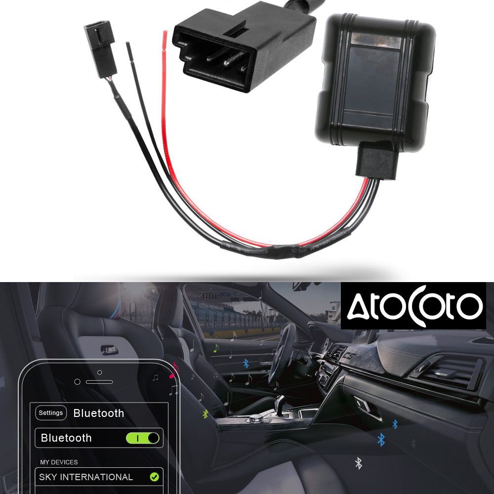 Atocoto Car Bluetooth Module Aux In Adapter 3 Pin Cable For Bmw Bm54 Rhaliexpress: 2006 Bmw X5 Bluetooth Module Location At Gmaili.net