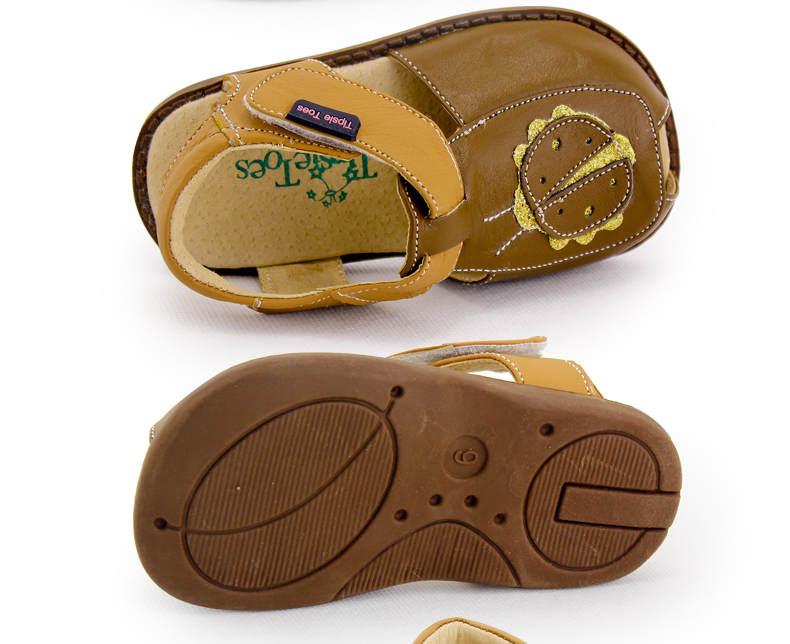TipsieToes Brand Casual Sheepskin Leather Kids Children Sandals boy New 2018 Summer Fashion 22111 free shipping