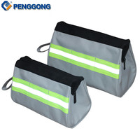 1pc Storage Tools Bag Utility Bag Electrical Package Multifunction Oxford Canvas Waterproof Toolkit