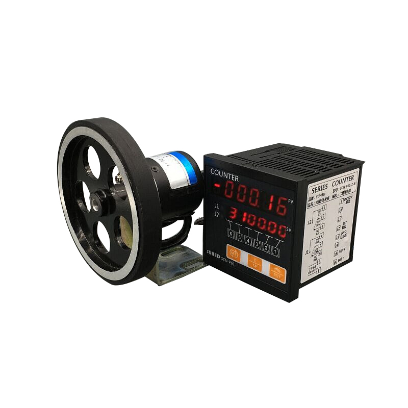 Code Wheel Type Electronic Metering Device Rolling Machine Length Measuring Controller Intelligent Digital Display-in Counters from Tools    1