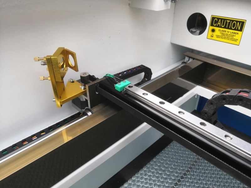 Envío Gratis HCZ RFE grabador láser de corte por láser 6090/1060 de 100 W Ruida 6442 S 110 v/220 v Co2 máquina de grabado láser