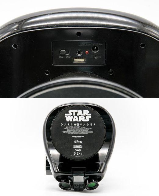 Star Wars Rouge One Death Trooper Head 1:1 Bluetooth Speaker LED Light Limited