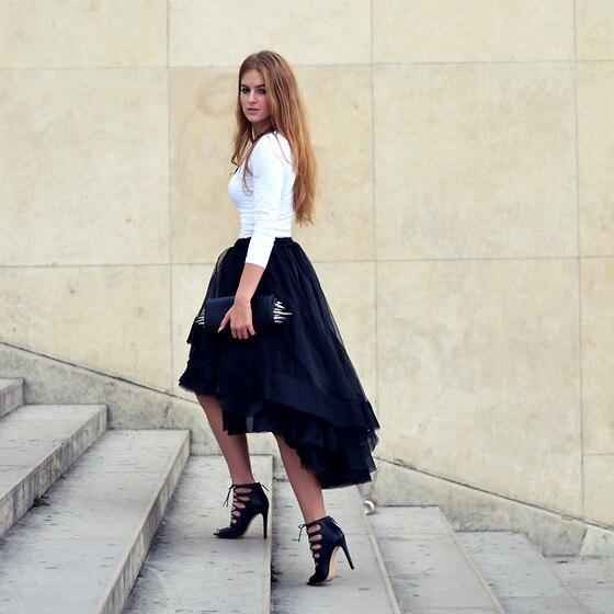 Новая модная летняя повседневная многослойная Женская фатиновая сатиновая юбка, Однотонная юбка-пачка естественного цвета для девочек