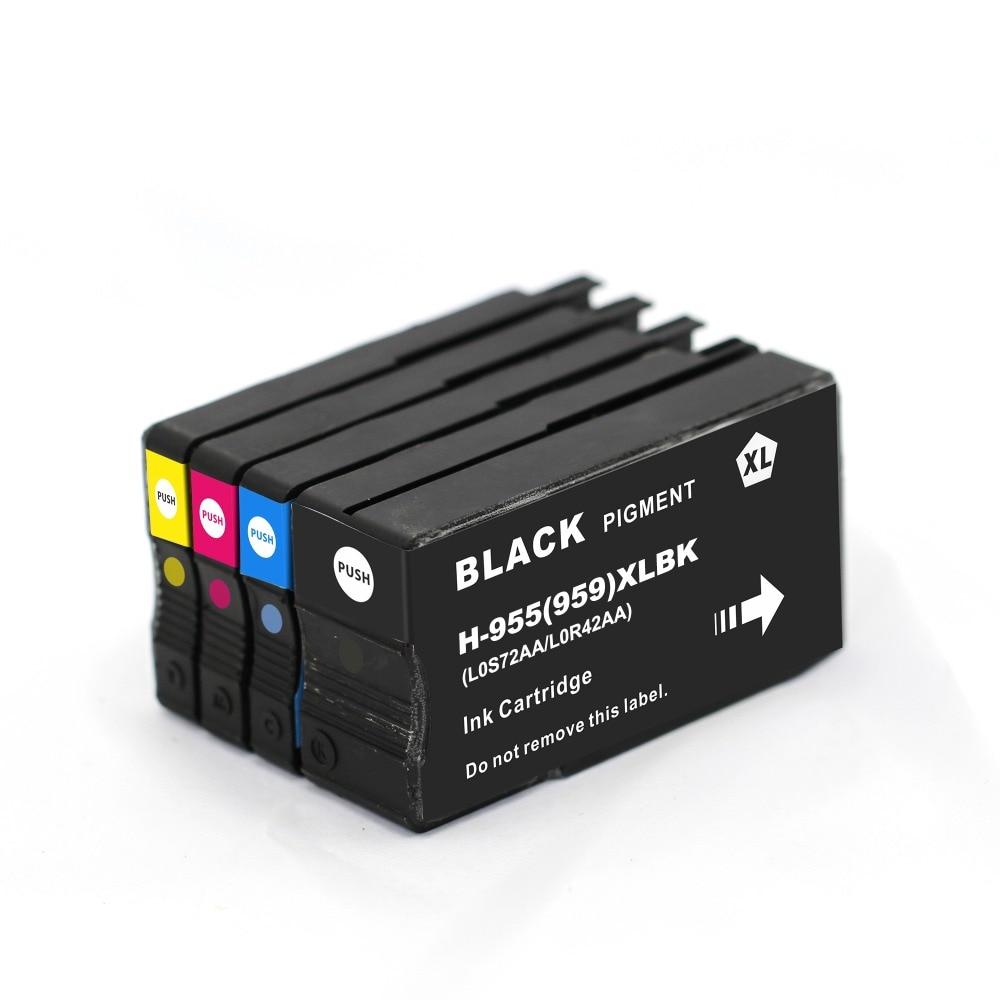 BLOOM compatible FOR hp 955XL 955 XL Ink Cartridge for HP OfficeJet Pro 7740 8210 8216 8710 8715 8716 8717 8720 8725 8727 Printe hot sales ink cartridge for hp officejet pro 7740 8210 8216 8218 8710 compatible cartridge with bk c m y original cartridge