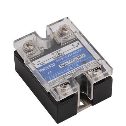 DC Solid State Relay Single-phase DD220D25 MGR - 1 DC Control DC SSR-25DD free shipping mager 10pcs lot ssr mgr 1 d4825 25a dc ac us single phase solid state relay 220v ssr dc control ac dc ac