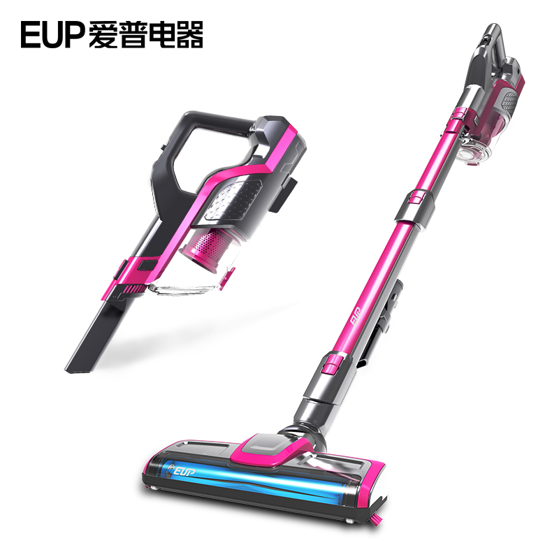EUP VH806 Wireless Vacuum Cleaner Home Big Suction Handheld Putter Type Charge Cordless Strong Vacuum Cleaners wireless super strong suction type wet