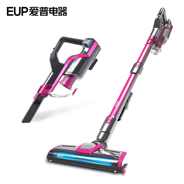 Perfect EUP VH806 Wireless Vacuum Cleaner Home Big Suction Handheld Putter Type  Charge Cordless Strong Vacuum Cleaners